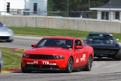 TTB #411 Mustang @ Road America, August 2014