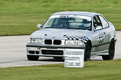 TTD #331 BMW M3 in action @ Autobahn Country Club, September 2010