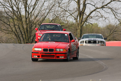TTD #555 BMW @ Mid-Ohio, April 2012