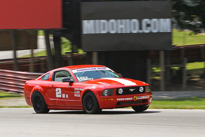 SI #2 Mustang @ Mid-Ohio, August 2013