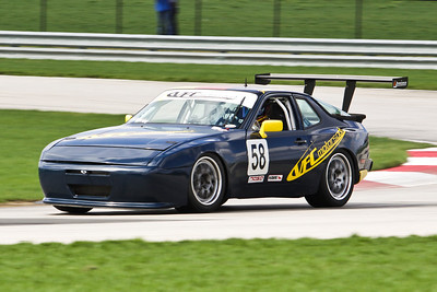 GTS3 #58 Porsche in Action @ Autobahn, April 2013