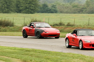 HPDE #077 Miata in Action @ GingerMan Raceway, August 2010