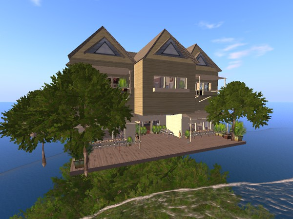 Crew member build of a gigantic tree house. ANSIBLE Virtual Ecosystem for NASA and the HI SEAS 4 Mission 2016