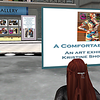 An art show in the virtual world by Kristine Shomaker. ANSIBLE Virtual Ecosystem for NASA and the HI SEAS 4 Mission 2016