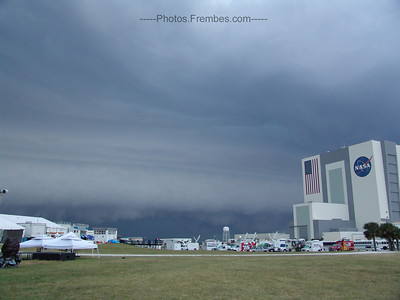 #NASAtweetup day 1 - No more sunshine. Storm is building. -- April 28, 2011