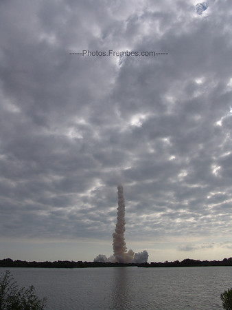 Endeavour's trail.  -- May 16, 2011