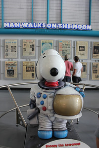 Why Snoopy in a space suit? See the next photo.