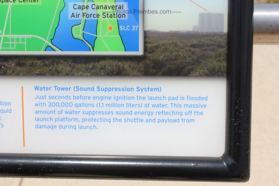 Interesting factoid about the shuttle launch and sound suppression.  - June 2011