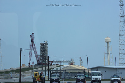 The dismantling of Launch Pad 39B continues. - June 2011