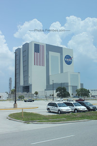 The VAB from the bus.