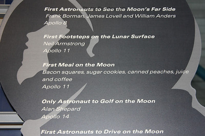 Check out the first meal on the moon. (Apollo/Saturn V Center)