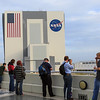 Hanging out on the balcony of the Operations Support Building (OSB) II before the #NASAsocial begins.