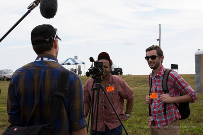 Travel Channel was on site interviewing #NASAsocial attendees.