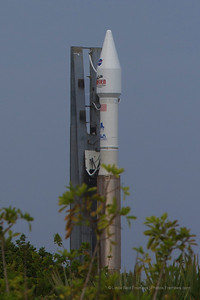 Closeup shot: You can see MAVEN on top of the Atlas V rocket.