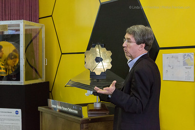 A presentation about the James Webb Space Telescope, the next generation coming up behind Hubble. The Webb Space Telescope will have 18 mirrors versus Hubble's two.