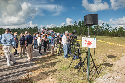 Waiting for the RS-25 Rocket Engine Test
