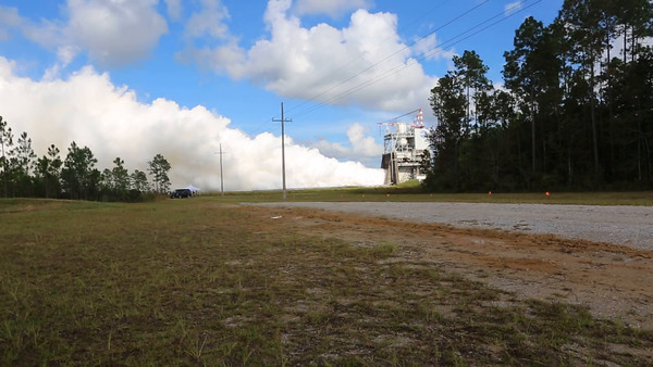 Video: RS-25 Rocket Engine Test at Stennis Space Center