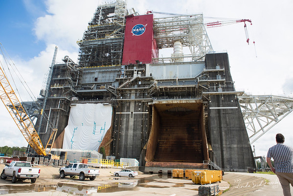 Test Stand B at NASA's Stennis Space Center
