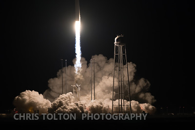 Antares Clears the Launch Area