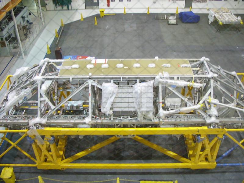 Mockup of External Logistics Carrier (ELC)