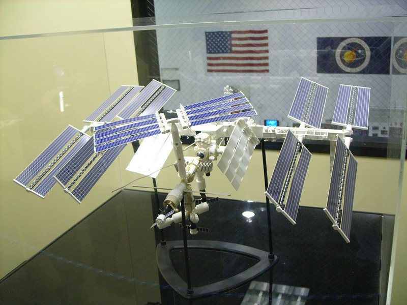 model of International Space Station (ISS)
