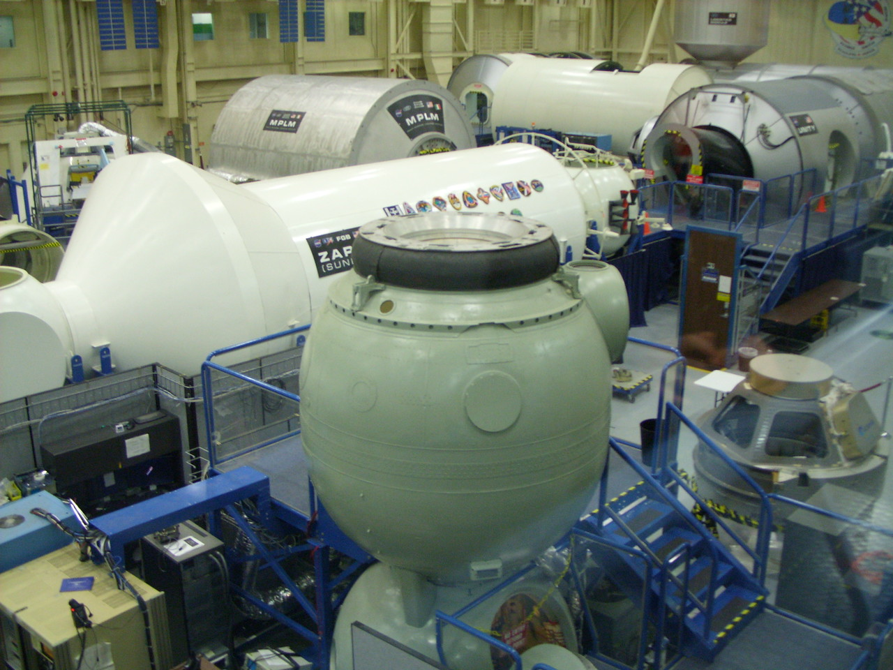 Space Vehicle Mockup Facility (SVMF) in building 9
