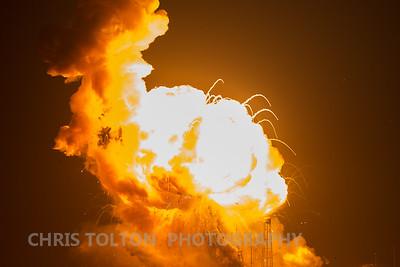 Massive Fireball Ascends