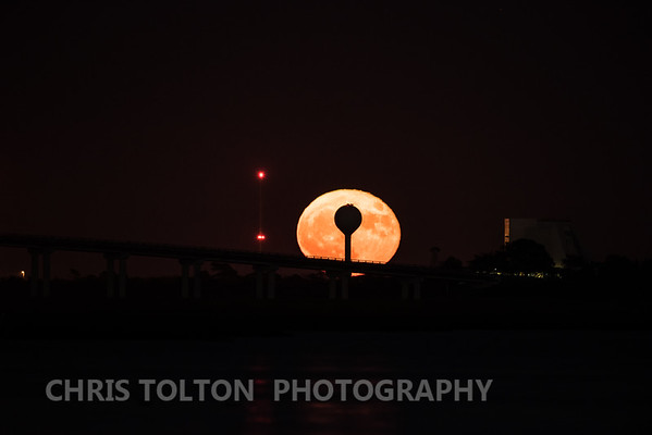 Full Moon Over Wallops