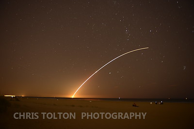 NASA LADEE launch from Virginia Beach