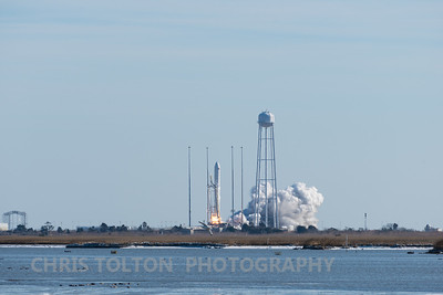 Cygnus First Few Feet of Flight