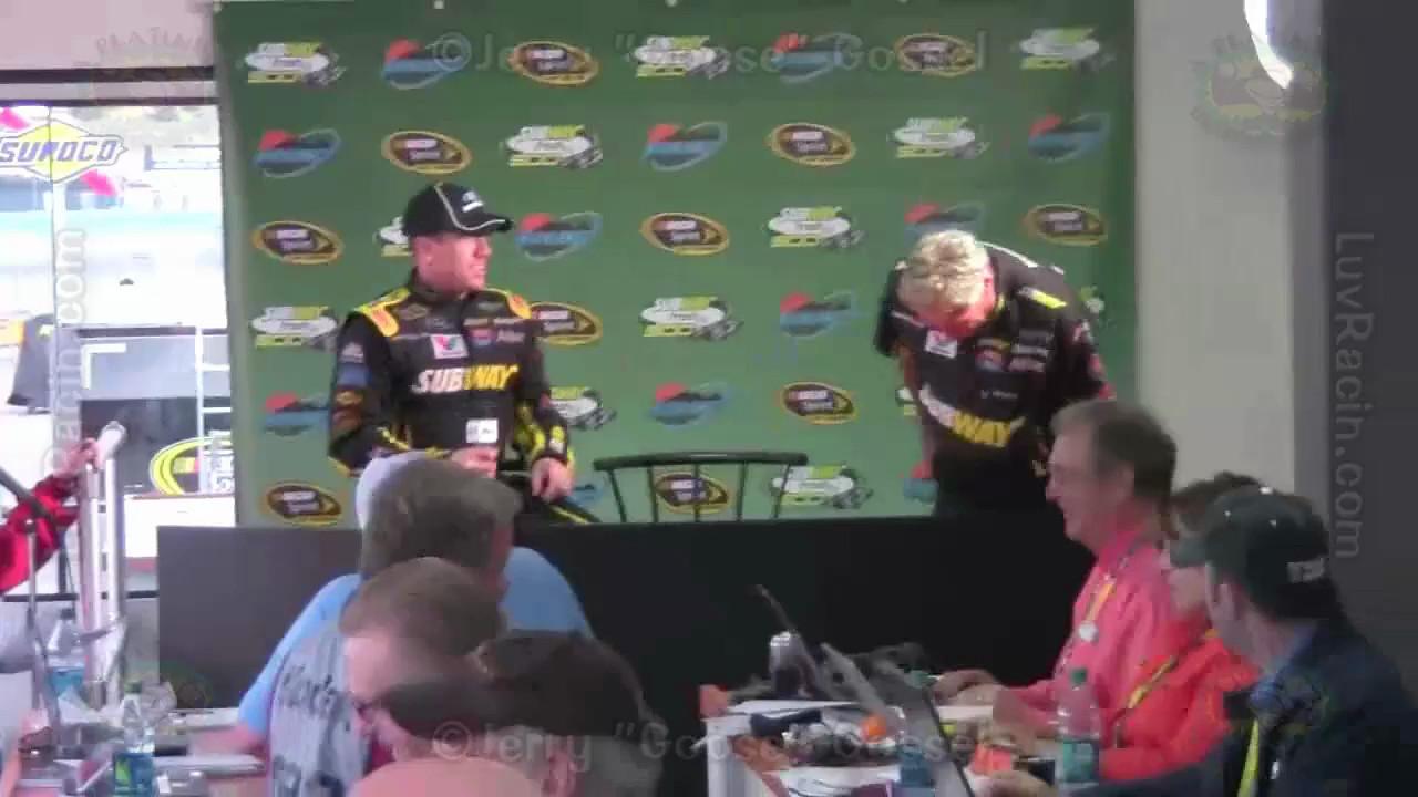 MEDIA CENTER INTERVIEW CARL EDWARDS WINNER PIR 03-03-13, NASCAR 2013