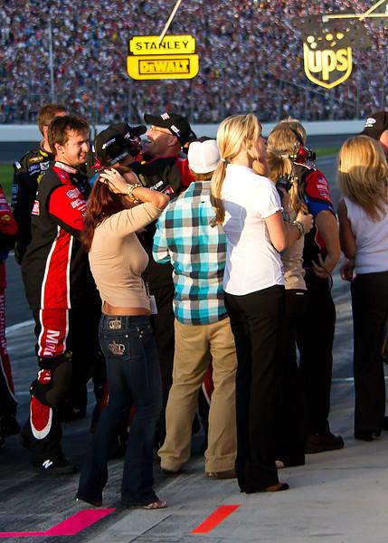 Wood Brothers Racing Celebrates 2011 Daytona Win