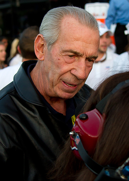 Ned Jarrett in Victory Lane at the 2011 Daytona 500