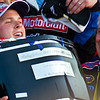 Trevor Bayne Lifts Daytona 500 Trophy