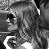 Transformers 3 Dark of the Moon star Rosie Huntington-Whiteley at the 2011 Daytona 500