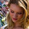 Simple stunning beauty Rosie Huntington-Whiteley at 2011 Daytona 500