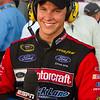 Happy Trevor Bayne after Daytona 500 Win