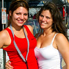 Fanzone Bud Girls friends and coworkers during the 2011 Daytona 500