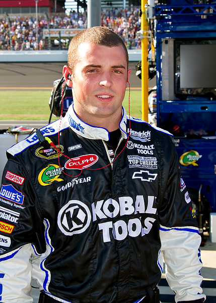 RJ Barnett Daytona 500 Lowes 48 Jimmie Johnson Crew Member