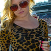 Pop singer Alexandra Amor enjoyed spending the day in the sun at the 2011 Daytona 500