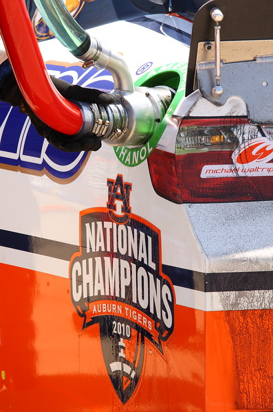Auburn 2010 National Champions Michael Waltrip Toyota