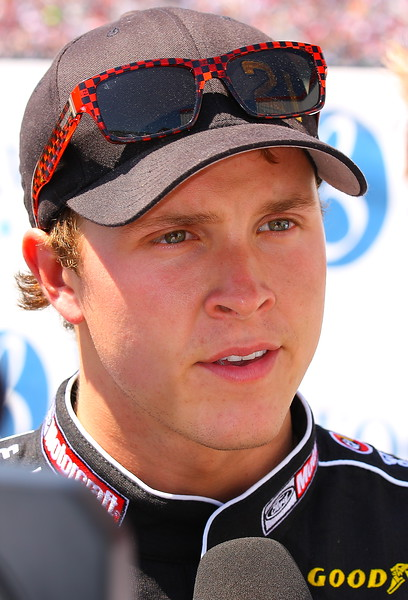 Trevor Bayne post crash interview Talladega