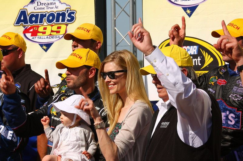 Dreams Come True at the Aaron's 499 for the Jimmie Johnson Family and Race Team