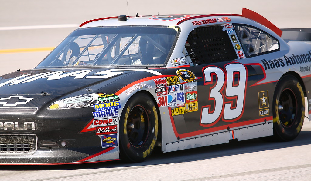 Ryan Newman No 39 Haas Chevrolet