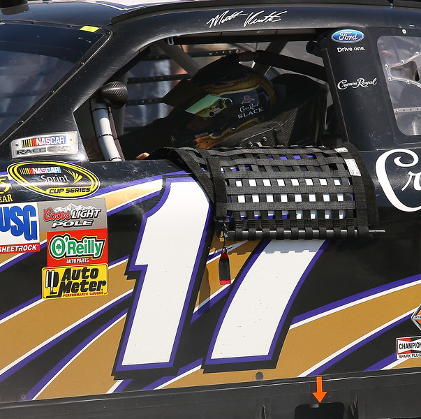 Matt Kensrth garage Talladega