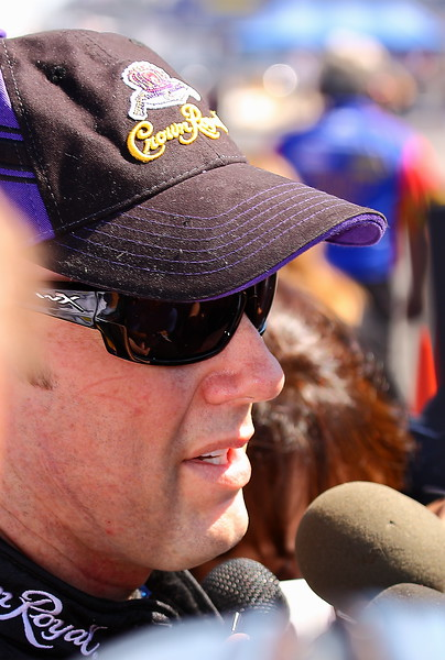 Matt Kenseth post crash interviews