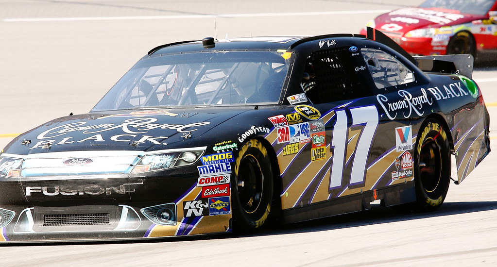 Matt Kenseth Crown Royal Black Ford Fusion Talladega