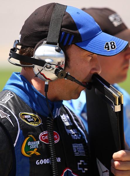Lowe's 48 Jimmie Johnson Crew Chief Chad Knaus Talladega Aaron's 499