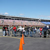 race fans got to come see the test session
