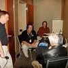 broadcasting a radio show